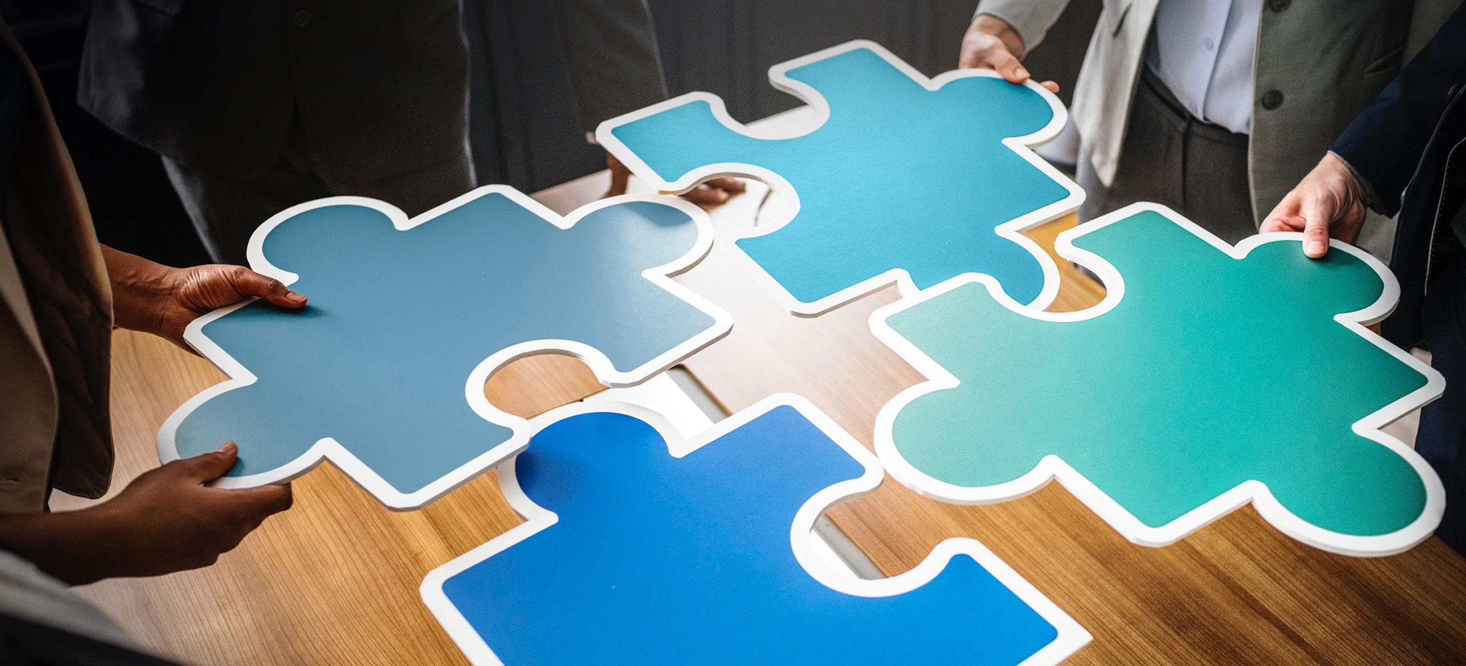 Erfolgreiche Personalberatung Marketing symbolisiert durch strategische Planung